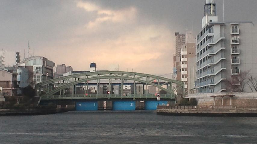 【地震】小名木川水門は閉鎖